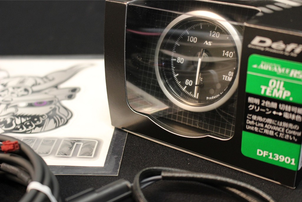 Type: Oil Temperature - Diameter: 52mm - Range: 50 ~ 150C - DF13901