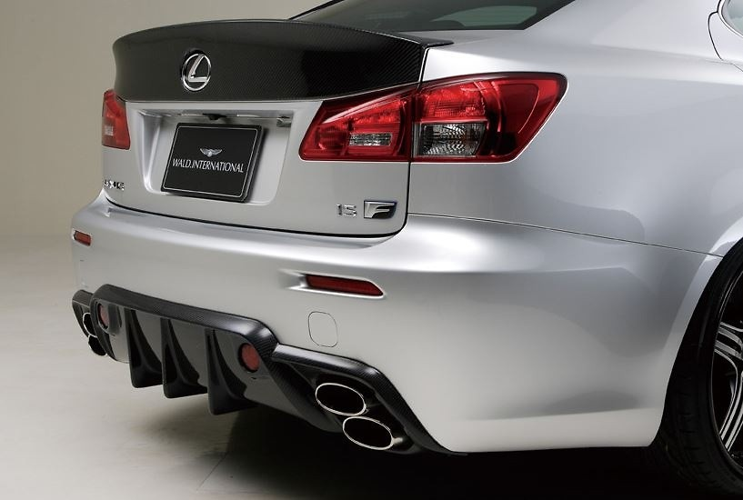 Lexus - IS F -USE20 - Rear Diffuser