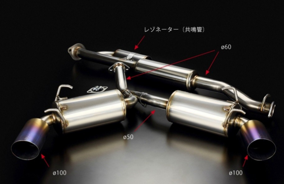 Toda - HIGH POWER TWIN SILENCER EXHAUST