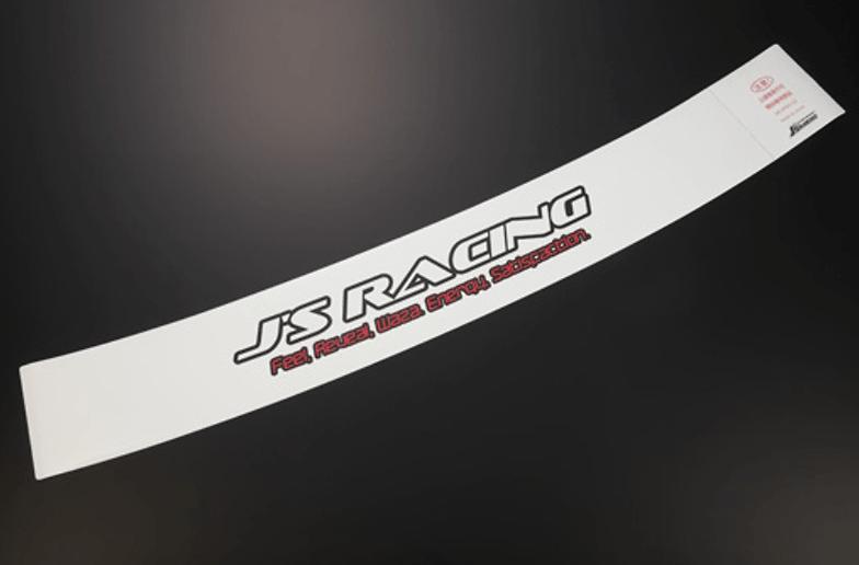 J's Racing Windscreen Sticker