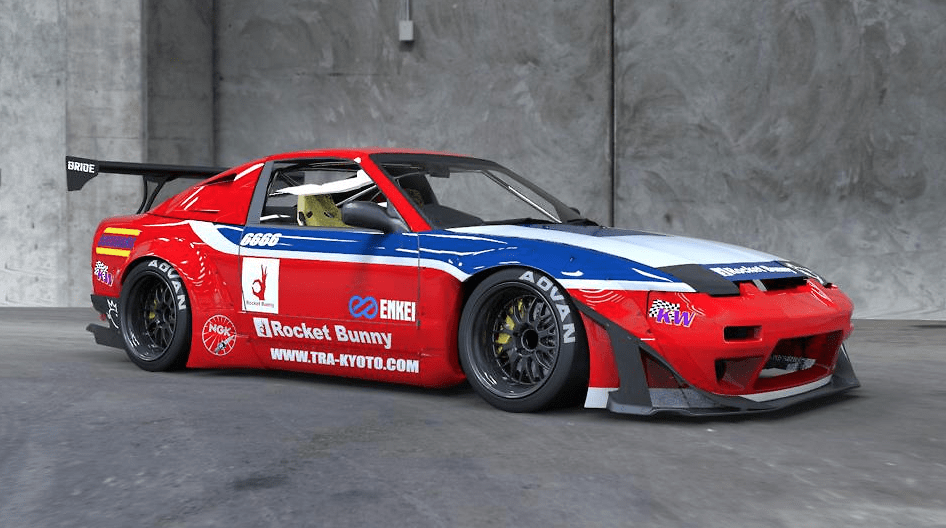 GT Wing Version - Construction: FRP - Colour: Unpainted - Full Kit