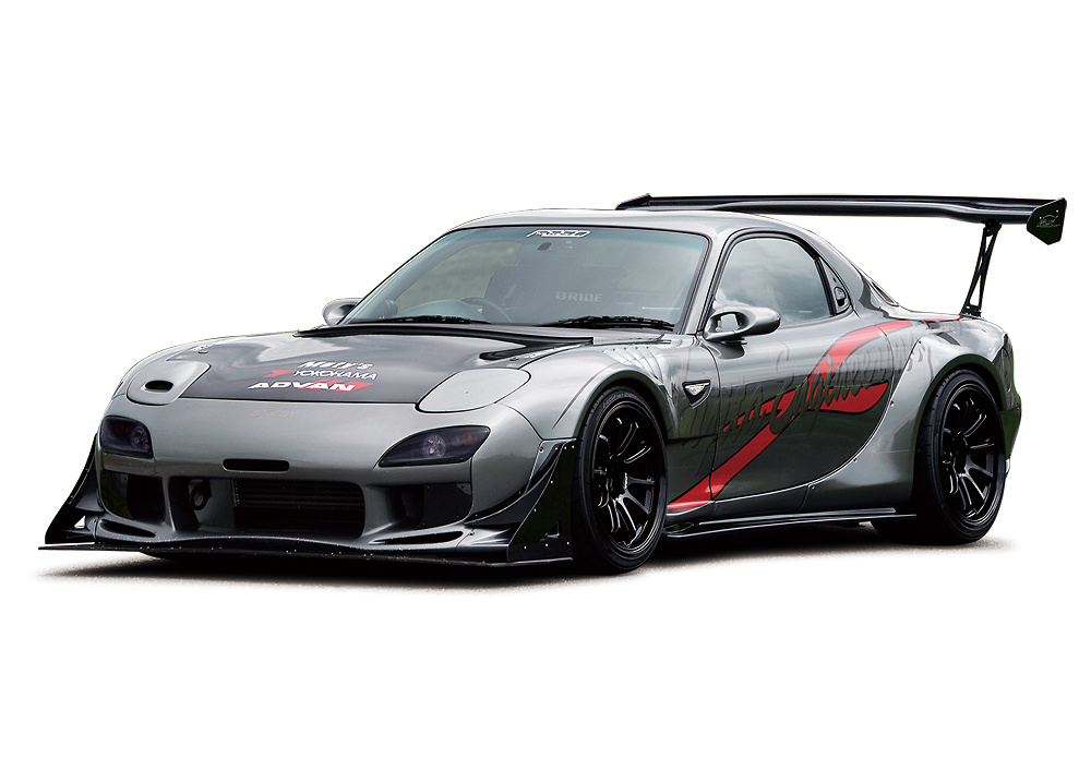 Shown with front bumper with front cowl Ver.2 type R and GT3 canard