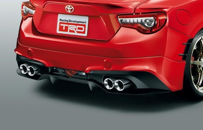 TRD - Toyota 86 Series 2 Aero Parts