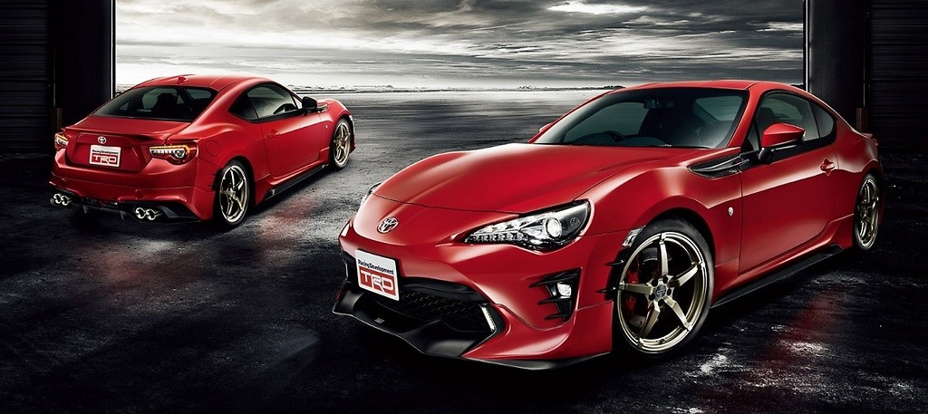 Toyota 86 trd parts