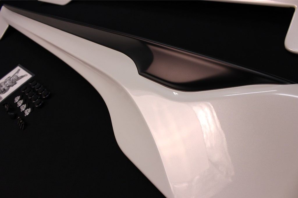 Side Skirts - Painted White (K1X) - PPE made - MS344-18004-A1
