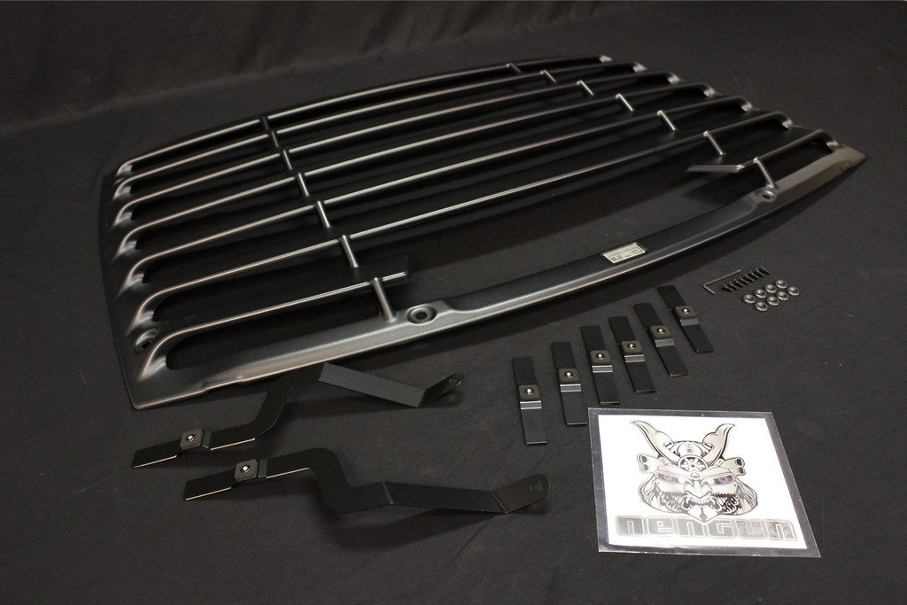 Rear Window Louver - Matte Black - ABS made - MS317-18001