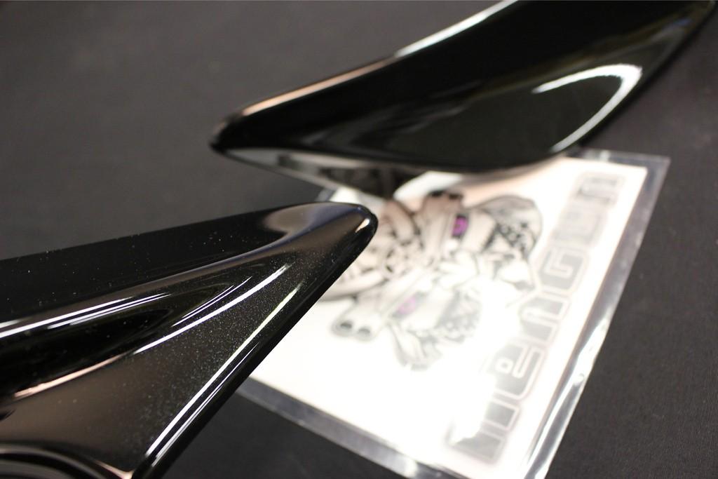 Rear Side Spoiler - Construction: PPE - Colour: Black (D4S) - MS315-18002-C0