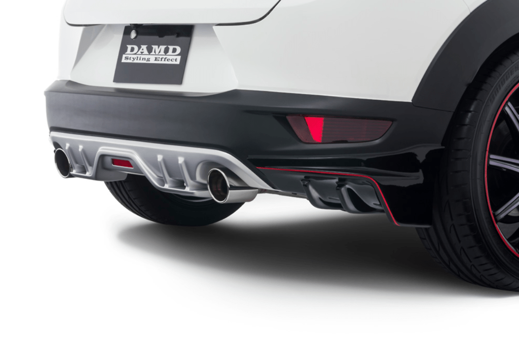 Colour: Unpainted - Rear Diffuser