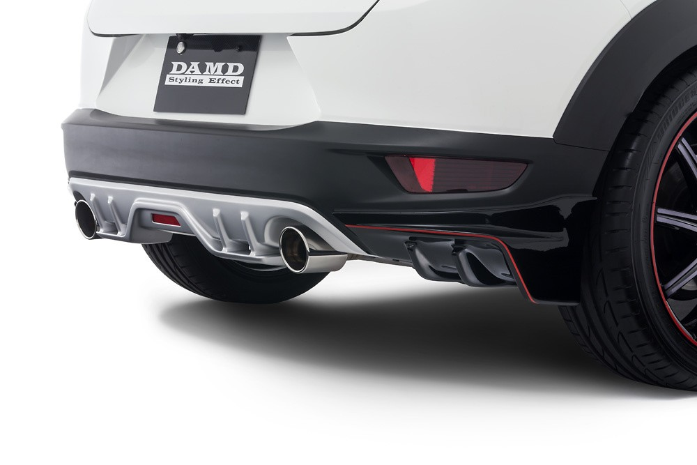 Rear Diffuser - Colour: Ceramic Metallic (47A) - Colour: Crystal White Pearl Mica (34K) - Colour: Deep Crystal Blue Mica (42M) - Colour: Dynamic Blue Mica (44J) - Colour: Jet Black Mica (41W) - Colour: Meteor Gray Mica (42A) - Colour: Seoul Red Premium Metallic (41V) - Colour: Titanium Flash Mica (42S) - DD-CX3DK-RDP