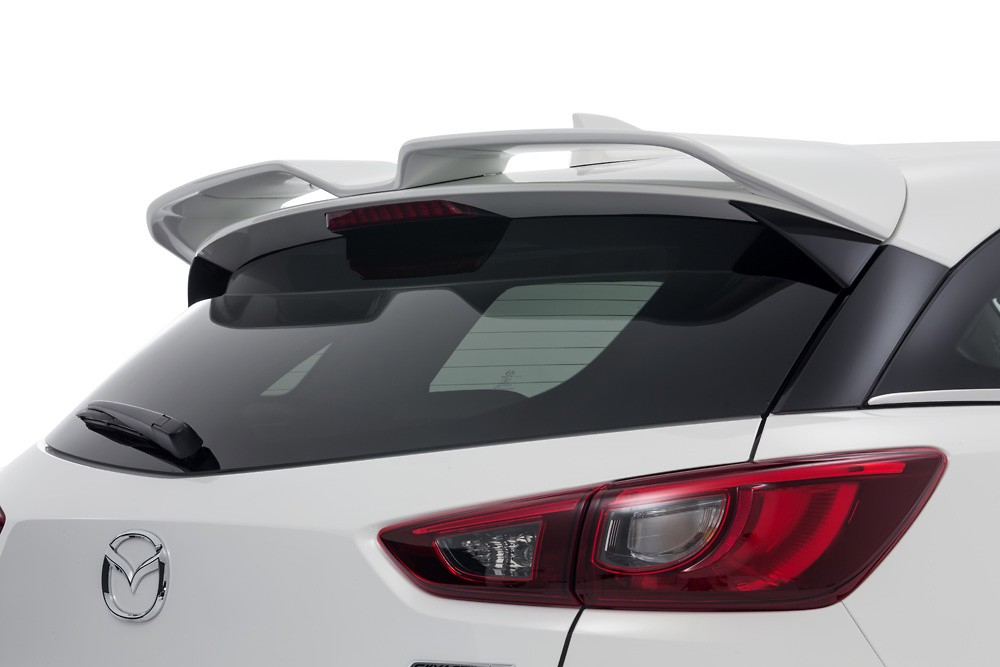 W-Wing Roof Spoiler - Colour: Ceramic Metallic (47A) - Colour: Crystal White Pearl Mica (34K) - Colour: Deep Crystal Blue Mica (42M) - Colour: Dynamic Blue Mica (44J) - Colour: Jet Black Mica (41W) - Colour: Meteor Gray Mica (42A) - Colour: Seoul Red Premium Metallic (41V) - Colour: Titanium Flash Mica (42S) - DD-CX3DK-WWP