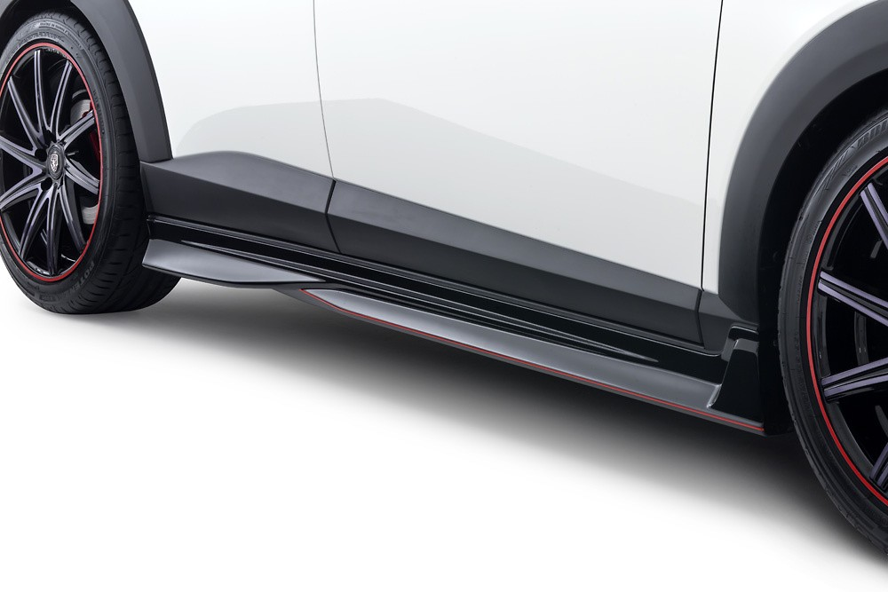 Side Skirts - Colour: Ceramic Metallic (47A) - Colour: Crystal White Pearl Mica (34K) - Colour: Deep Crystal Blue Mica (42M) - Colour: Dynamic Blue Mica (44J) - Colour: Jet Black Mica (41W) - Colour: Meteor Gray Mica (42A) - Colour: Seoul Red Premium Metallic (41V) - Colour: Titanium Flash Mica (42S) - DD-CX3DK-SSP