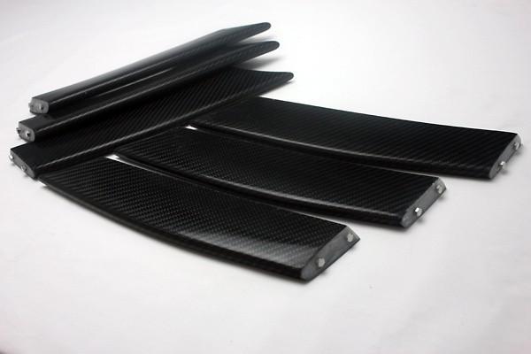 Construction: Carbon - Front Bumper Duct Fin