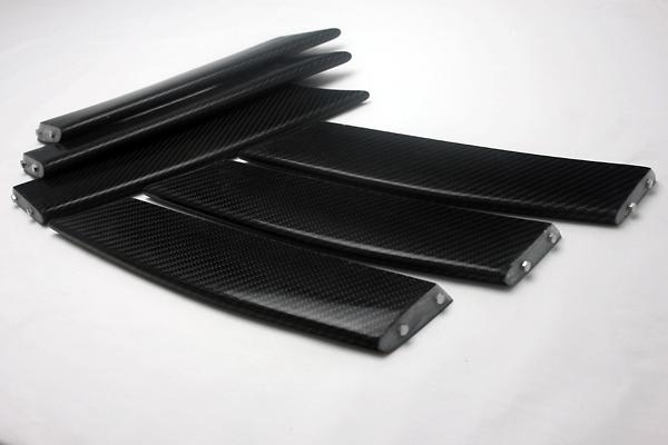 Front Bumper Duct Fin (Carbon)