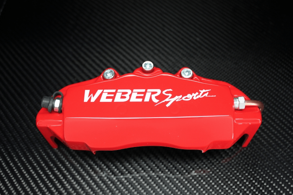 Weber Sports Caliper Covers - Red