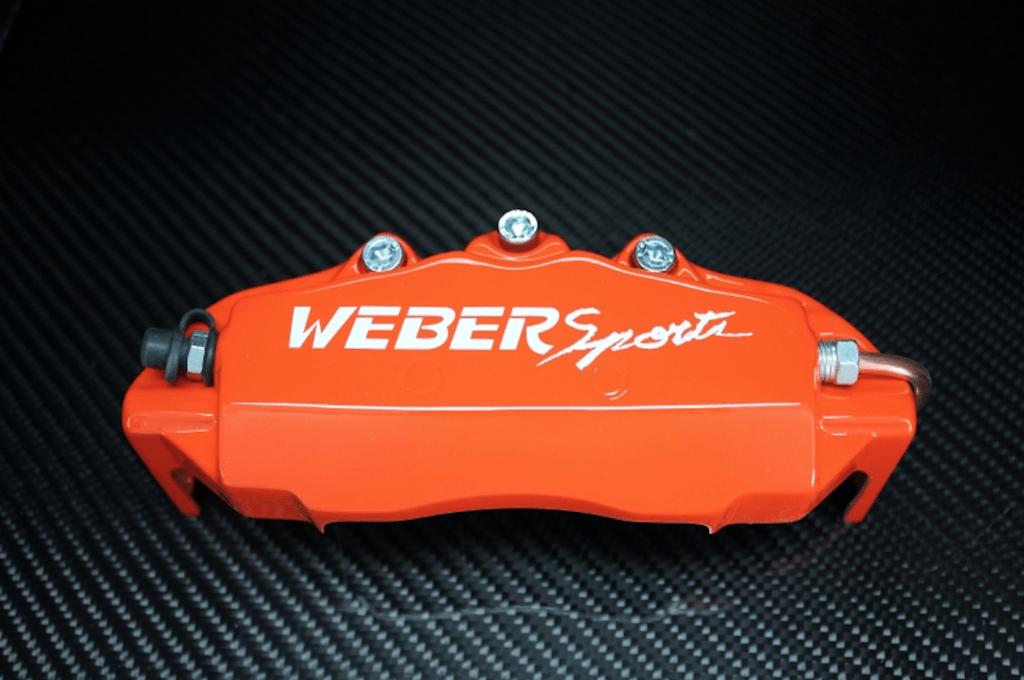 Weber Sports Caliper Covers - Orange