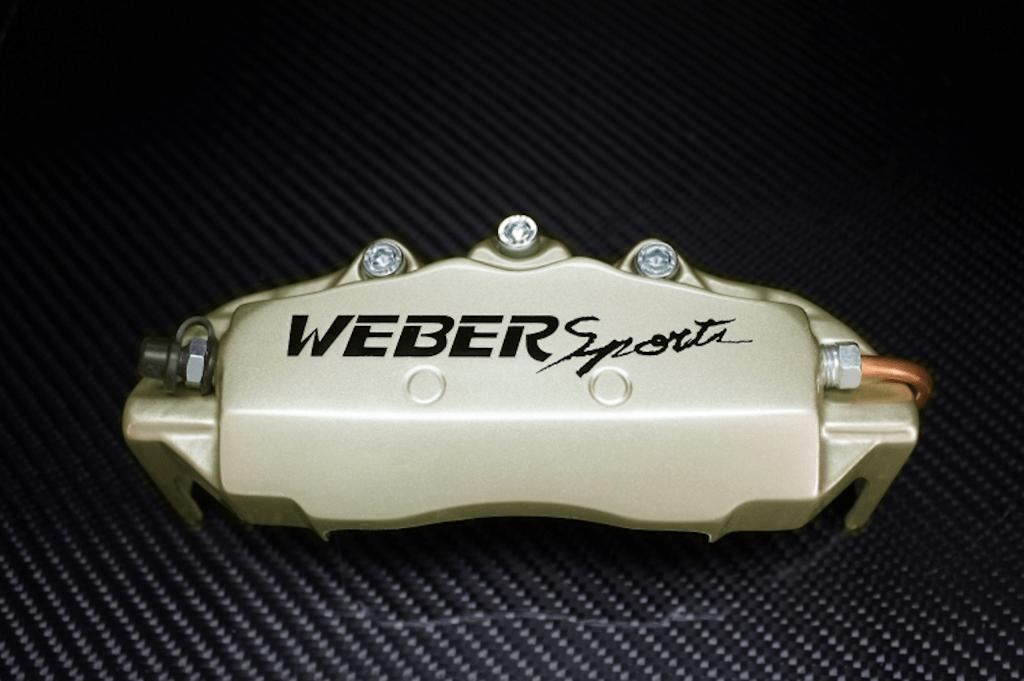 Weber Sports Caliper Covers - Champagne Gold