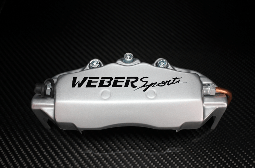 Weber Sports Caliper Covers - Silver