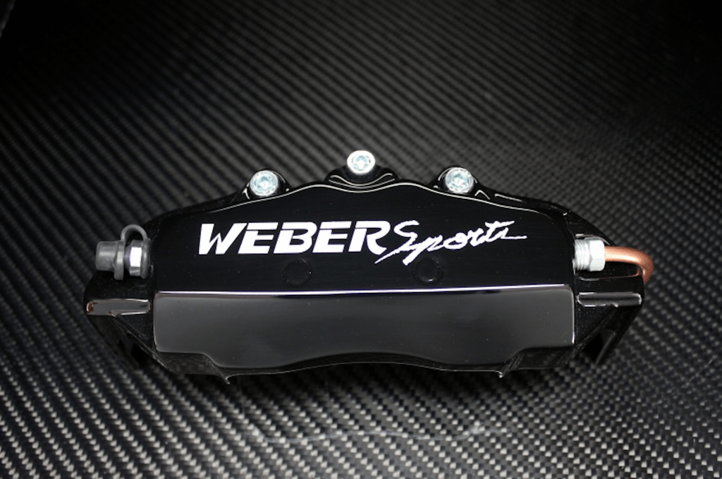 Weber Sports Caliper Covers - Black