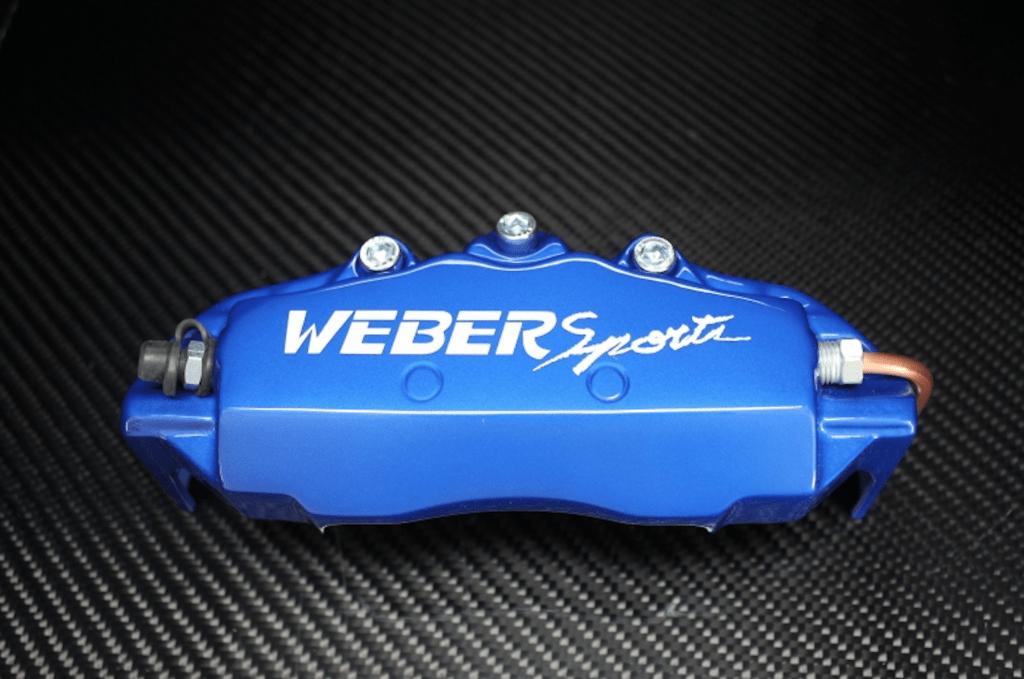 Weber Sports Caliper Covers - Blue