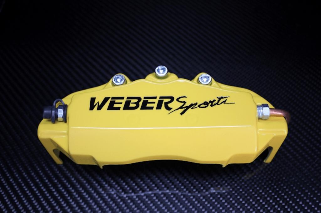 Weber Sports Caliper Covers - Yellow