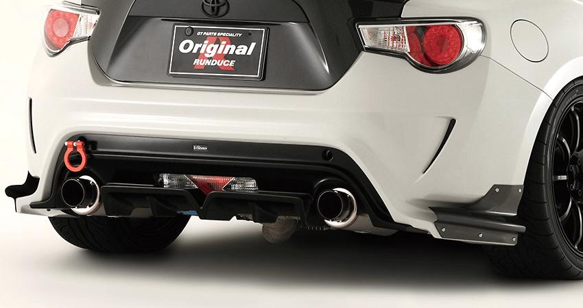 Rear Bumper - Construction: Carbon - VATO-053