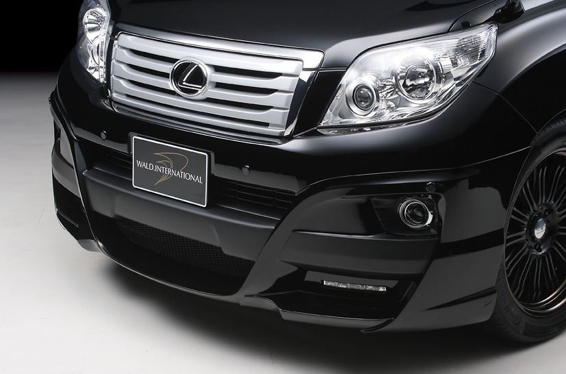 Toyota - Land Cruiser Prado - GRJ150W - Sports Line ('09~'13) - Front Half Spoiler