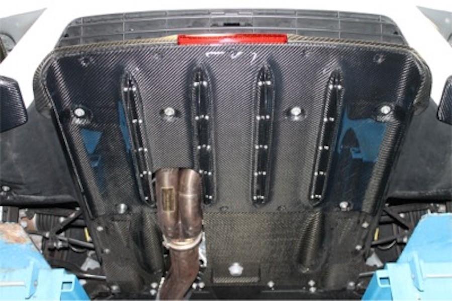 Construction: Carbon - Rear Diffuser