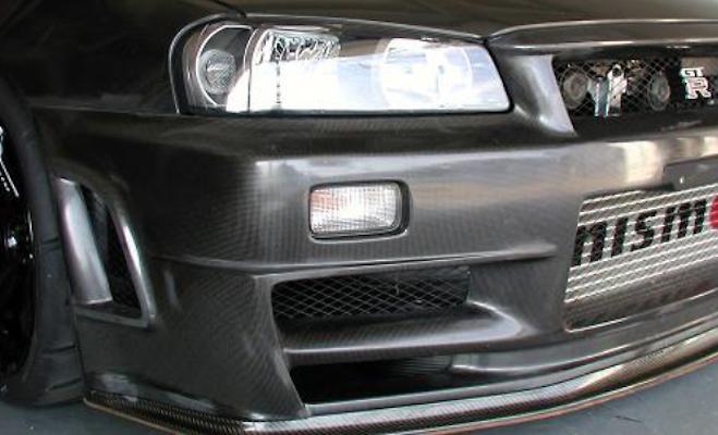 Front Bumper Spoiler - Construction: Dry Carbon - 62020-RSR47