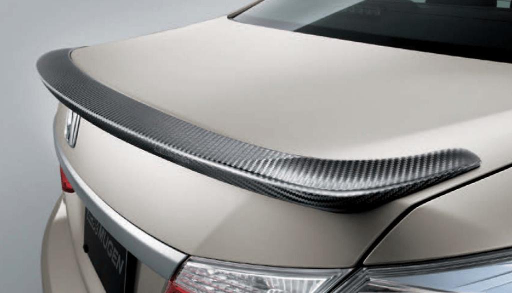 Carbon Air Spoiler - Construction: Carbon - 84112-XMJ-K0S0