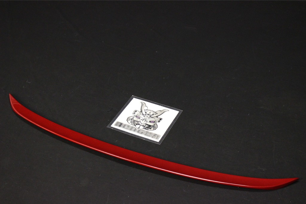 Trunk Lid Spoiler - Construction: FRP - Colour: Red Mica Crystal Shine (3R1) - 64440-TAE 30-R
