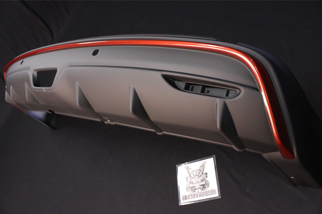 Rear Under Spoiler - Construction: ABS Plastic - 8502S-RN2T1