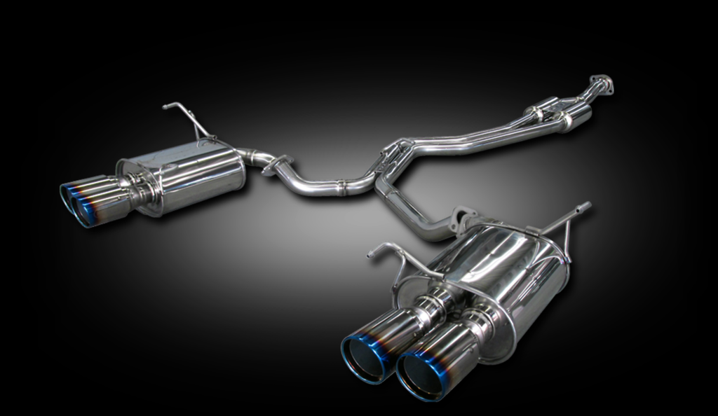 Dual Center Mufflers - Pieces: 3 - Pipe Size: 60-2x50mm - Tail Size: 2x 96mm - Weight: 21.1kg - Tail Type: Slash Cut - B71354W
