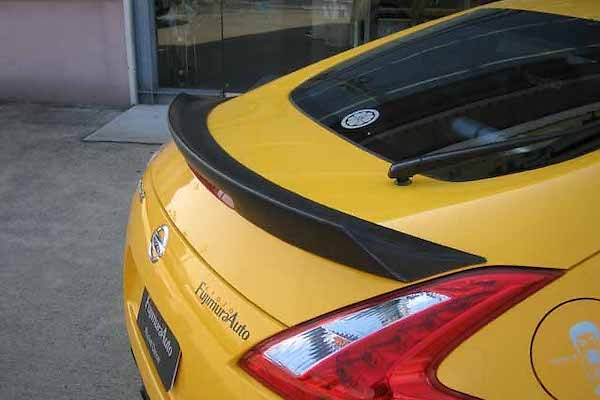 Rear Spoiler - Construction: Carbon (Twill Weave) - 100050