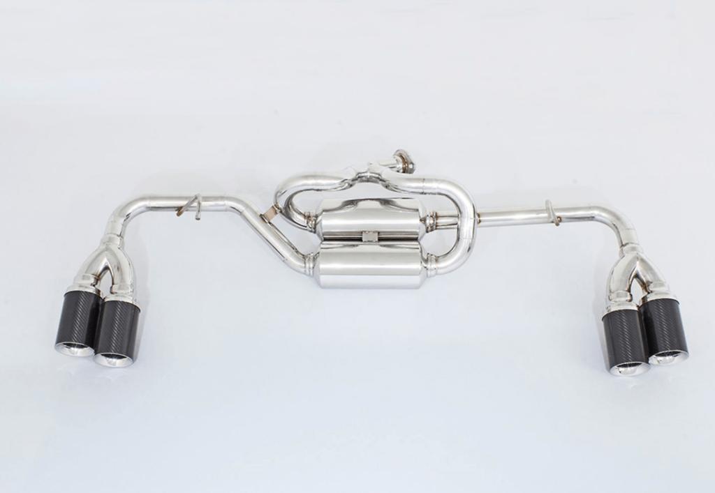 Aero Carbon Loop Muffler 2x90mm - AIMPVIPEXE-RX-LMUF