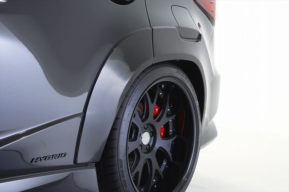 Rear Over Fenders - Construction: FRP - Colour: Unpainted - AIMPVIPEXE-RX-ROF