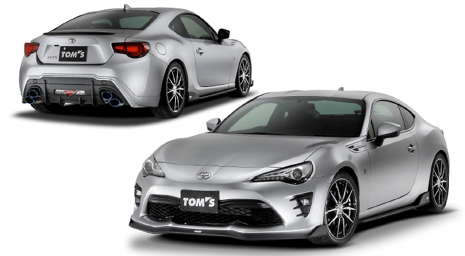 TOM'S - Toyota 86 Series 2 Aero Parts