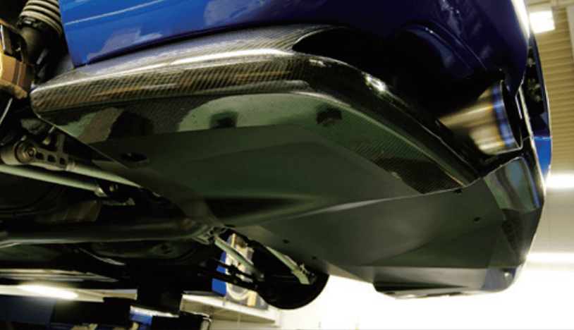 Rear Undertray - Construction: Front Wet Carbon - IRE-1