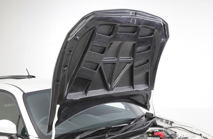 Aero Bonnet - Construction: Carbon Twill Weave - Colour: - - 86KABCTW