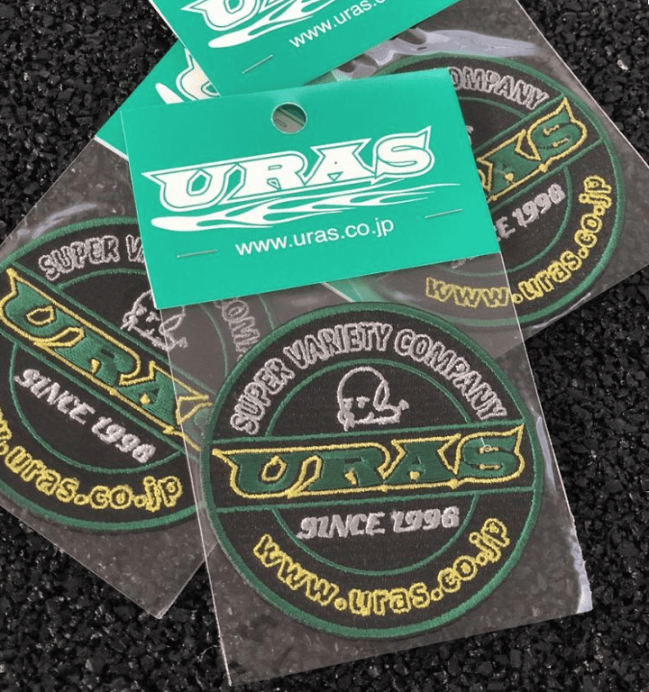 URAS Round Embroidery Patch - Size: 75mm - 04010-ROUND