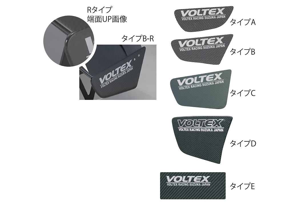 Voltex - GT Wing - Type 1 & 2