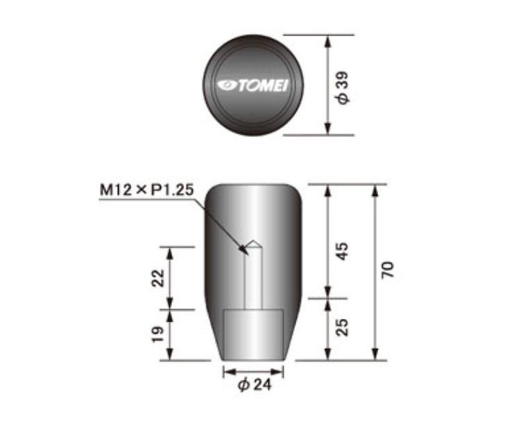 Length: Short - Thread: M12 x P1.25 - 763003
