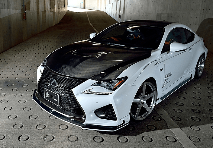 ROWEN - Lexus RC-F Aero Parts