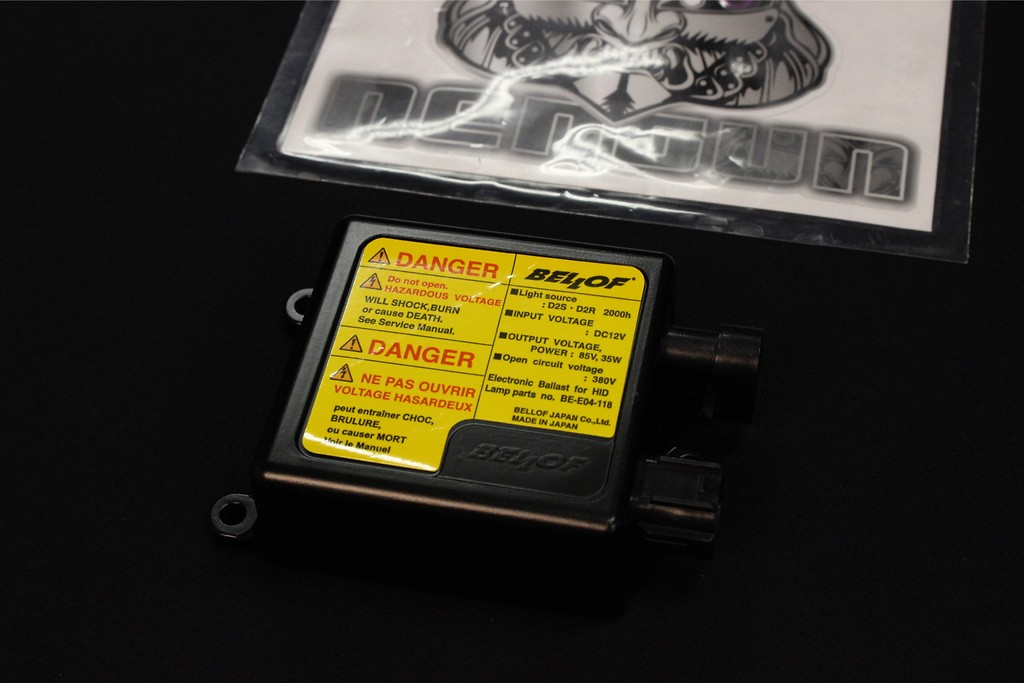 Spec EX Inverter - HID power unit for imported cars - BE-E04-118