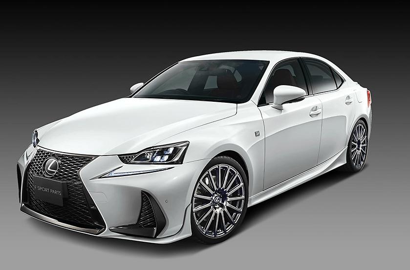 TRD - Lexus IS F-Sport Aero Parts