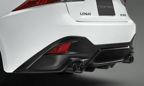 Rear Spoiler - Colour: Graphite Black Glass Flake (223) - MS342-53001-C2
