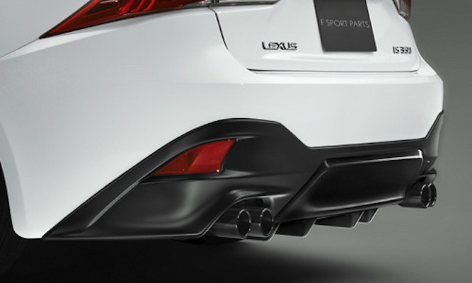 Rear Diffuser - Sports muffler and rear diffuser must be installed with together. - Colour: BLACK EDITION - MS343-53003