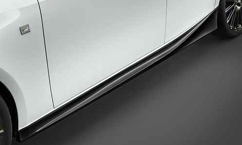 Side Skirt - Colour: BLACK EDITION - MS344-53003