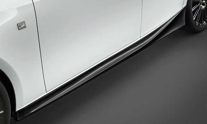 Side Skirt - Colour: BLACK EDITION - MS344-53003