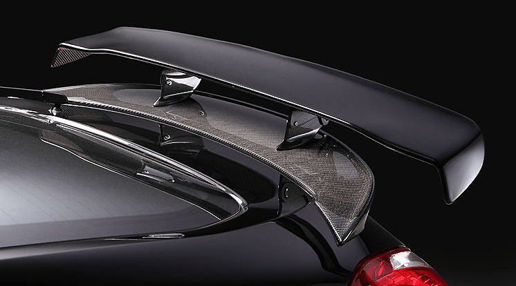 GT WING - HYPER NARROW - 1360 mm & WING BASE SPOILER (see note 2) - Construction: VSDC + CARBON - V