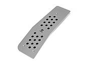Foot Rest X1 - Transmission: AT - Drive: RHD - Material: Aluminum - 6103-24512